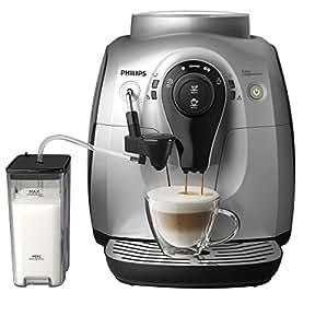 PHILIPS 飞利浦 Saeco 2100 series 家用意式全自动浓缩咖啡机 HD8652/57 (尊享上门开机服务/ 陶瓷研磨器/可拆卸储奶容器/ 一键拆卸 轻松清洁/ 自动打奶泡 花式咖啡轻松享)