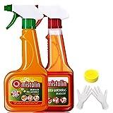 Mistolin 厨房油污清洁剂油烟机清洗剂545ml*2 优惠套装(进口)(亚马逊自营商品,由供应商配送)