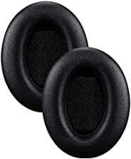 Bose耳机套,高级*泡沫耳垫,皮革覆盖替换耳垫,适用于 Bose QuietComfort 15 (QC15) / Ae2 / Ae2i / Ae2w / SoundTrue/SoundLink 耳罩式耳机DK-MFS