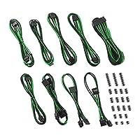 CableMod 经典 ModFlex E 系列电缆套件 适用于 EVGA G3 / G2 / P2 / T2 - 黑色/蓝色CM-EV2-CKIT-KKG-R