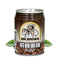 伯朗咖啡 原味咖啡饮料 3合1咖啡即饮品 240ml/罐装