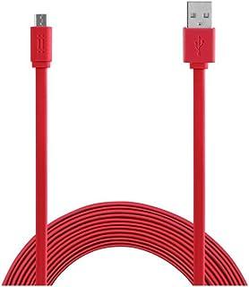 Aiino aicsmcrusb - 三星 Micro USB 数据线AICSMCRUSBF-RD Micro USB Cable to 1.5m Flat USB cable 红色