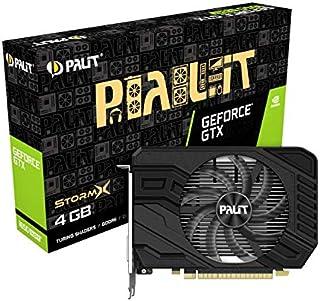 Palit GeForce GTX 1650 SUPER StormX 4 GB GDDR6 显卡,DisplayPort,HDMI,双链接 DVI-D