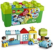 LEGO 10913 DUPLO 经典积木积木套装,带存储,First Bricks 学习玩具,适合 1.5 岁幼儿