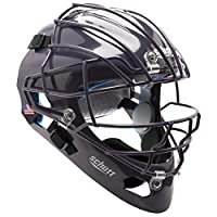 Schutt AiR MAXX 曲棍球风格捕手头盔,带面罩,*蓝,扩展OS笼面罩