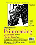 Strathmore (333-8 300 系列轻质印刷品,20.32 厘米 x 25.4 厘米,40 张