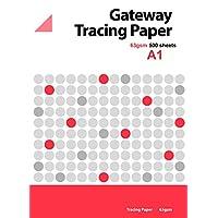 Gateway A1 63 GSM 500 对开式 天然 透明纸