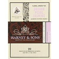 harney & Sons 绿茶龙珍珠茉莉20sachets
