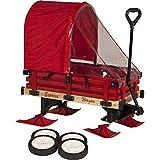 Millside Industries 雪橇车,红色木质货架