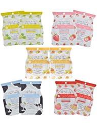 中亚:(新品)pure smile 保湿 滋润 水果乳酪 调理肌肤 面膜 组合装 10片装¥60.14
