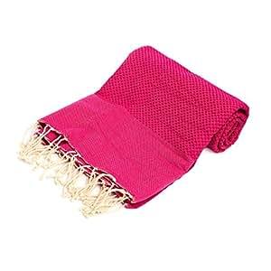 Fouta Lifestyle 别致生活方式 Fouta Solid Pomegranate Pink 1包