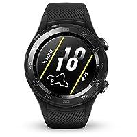 【2018新款】 HUAWEI 华为 WATCH 2 智能手表 4G版(eSIM) 表盘碳晶黑 表带荧光绿 顺丰发货 默认开电子发票 可开专票