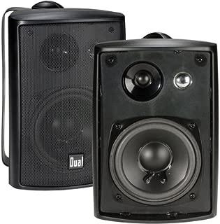 Dual LU43PB 3-way Indoor/Outdoor Speakers (Black)