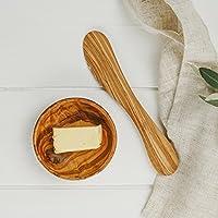 Naturally Med NM/OL062 黄油刀,棕色