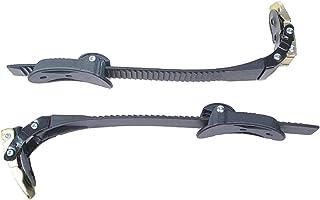 LIOOBO 2 套更换直排轮滑鞋带螺钉螺母滑冰带扣配件