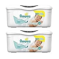 Pampers 敏感水婴儿湿巾浴缸 128 Count