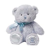 GUND BabyGUND我的第一次泰迪熊毛绒玩具蓝色-高10英寸(25cm)(亚马逊进口直采,美国品牌)