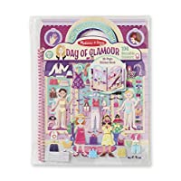 deluxe puffy sticker album - day of glamour: activity books - coloring/painting/stickers