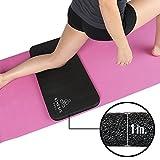 Kinesis 瑜伽护膝 - 超厚 1 英寸 (25mm) 防疼瑜伽! 适合标准尺寸瑜伽垫,带魔术贴,方便旅行和存放!