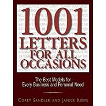 1001 Letters For All Occasions: The Best Models for Every Business and Personal Need (English Edition)
