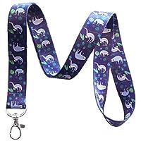 紫色树懒挂绳钥匙扣
