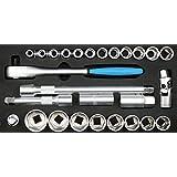 Sw-Stahl Socket 1/2 英寸 24 件套,Z 2533-6
