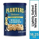 Planters 淡盐奢华整颗腰果(1磅2.25盎司/517克罐装)