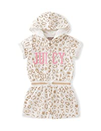 Juicy Couture 女童连帽连身衣,