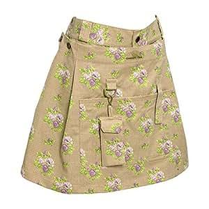 Garden Girl USA 花园短裙,12 英寸,玫瑰棕褐色