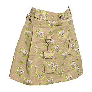 Garden Girl USA 园艺裙,14 英寸,玫瑰棕褐色