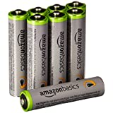 AmazonBasics AAA High-Capacity Rechargeable Batteries (8-Pack) Pre-charged