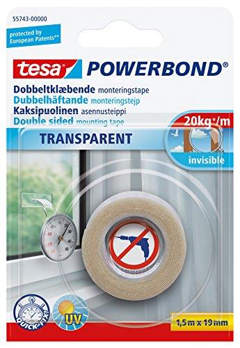 tesa 德莎   强力透明双面自粘型安装胶带  1.5m*19mm 7.53(下单3折)