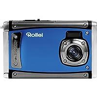 Rollei Sportsline 80 – 数码相机 – 8 万像素,1080p 全高清视频分辨率,防水深度达 3 米10051 蓝色