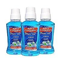 Colgate 高露洁 冰爽薄荷 漱口水 250ml×3(0酒精)(新老包装 随机发货)