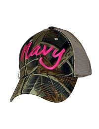 U.S. Navy Ladies 狩猎帽,背面有网眼布