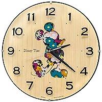 SEIKO 时钟 挂钟 米老鼠 模拟 米奇&朋友 Disney Time 迪士尼时间 天然色木料 FW586B SEIKO