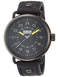 [ Barbour 国际 ] 国际手表 レザーストラップ BB022BKBK 男式 [ 正规进口商品】