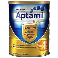 Aptamil 新西兰爱他美 金装 婴儿奶粉 1段900g (0-6个月) 包邮包税【跨境自营】