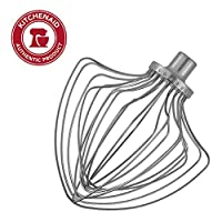 KitchenAid KN211WW 11-Wire Whip - Fits Bowl-Lift models KV25G and KP26M1X