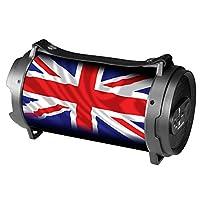 Xtreme Boombox 英国国旗蓝牙扬声器,黑色