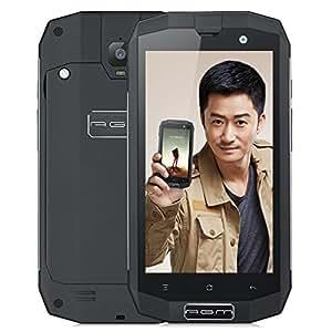 AGM(手机) a1q三防智能手机战狼全网通老人机超长待机防水军工手 (3+32G磨砂黑)