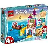 LEGO 乐高 拼插类玩具 迪士尼公主系列 小美人鱼爱丽儿的海边城堡 41160 4+ 积木玩具