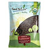 Organic California Thompson Seedless Raisins by Food To Live (Sun-Dried, Non-GMO, Kosher, Unsulphured, Bulk, Lightly Coated with Organic Sunflower Oil) - 8 Pounds