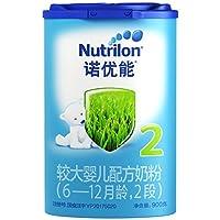 Nutrilon 诺优能 2段较大婴儿配方奶粉(6-12个月) 900g(荷兰原装进口-新老包装随机发货)