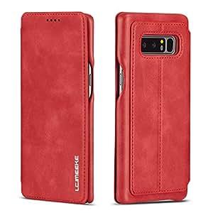 皮革硬质后壳 - Samsung NoteSamsung Galaxy Note 9 Samsung Galaxy Note 9 红色