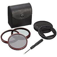 Fotodiox?富圖斯?WPGT-Stnd-Kit GoPro運動相機配件?Hero3相機濾鏡套裝(用于標準防護殼) 含濾鏡轉接環,濾鏡蓋和UV,CPL,ND8三片濾鏡