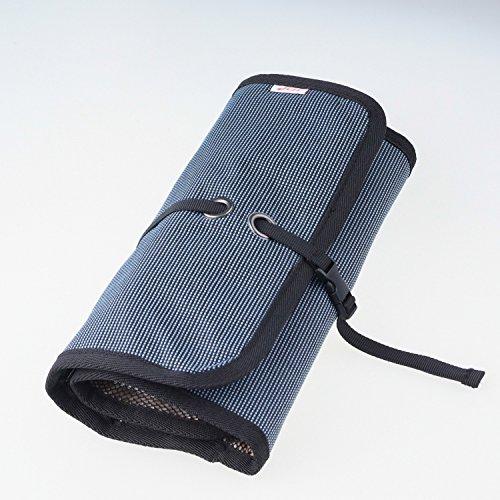 WANPOOLデータケーブル収納袋デジタルアクセサリーパッケージ携帯充電器モバイルハードディスクUディスク充電宝物カードリーダー仕上げバッグアウトドア旅行デジタルパッケージ仕上げパッケージ電子製品収納バッグ多機能収納バッグ(青)