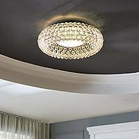 Modway 光环亚克力 63.5 厘米圆形嵌入式天花板灯具