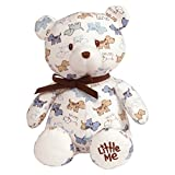 Gund Baby Little Me Teddy Bear Baby Plush Stuffed Animal Cute Puppies 10英寸