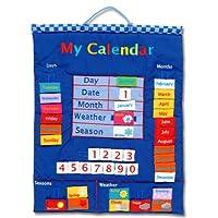 My Calendar 蓝色壁挂